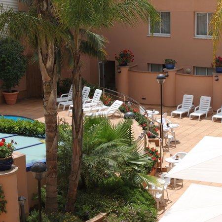HCC Montblanc : Blick aus dem Hotelzimmer