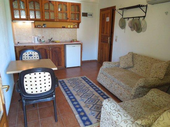 Beyaz Villas: The lounge area