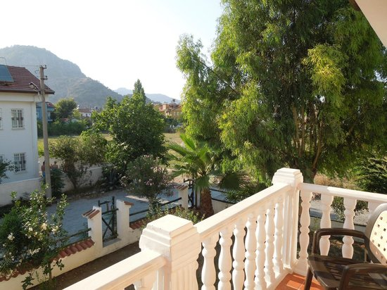 Beyaz Villas: The view from our balcony