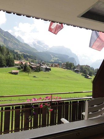 Hotel Berghaus: view from my room