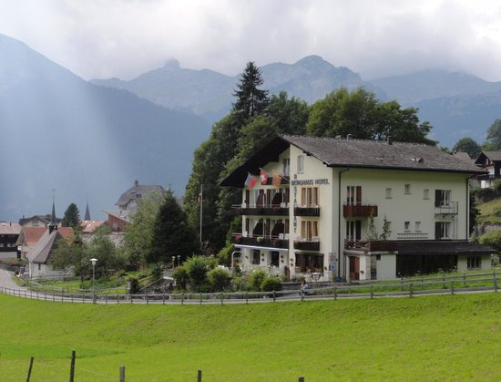 Hotel Berghaus: at the edge of town