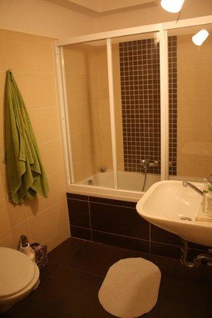 Charles Bridge Economic Hostel : Ensuite Bathroom