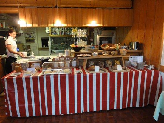 Hotel Berghaus: breakfast buffet