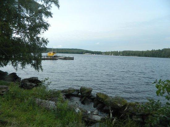 Hotel Kumpeli Spa: вид на озеро