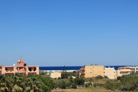 Castro Hotel: Вид с балкона на Эгейское море