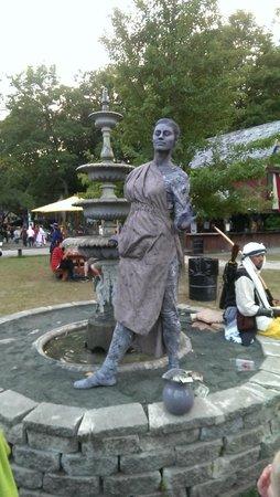 New York Renaissance Faire, Tuxedo Park, NY: Statue 2