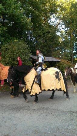 New York Renaissance Faire, Tuxedo Park, NY: Knight on Horse