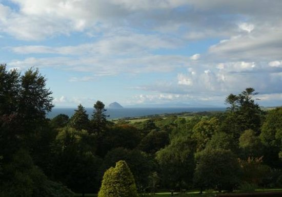 Glenapp Castle: View from Countess Inchcape