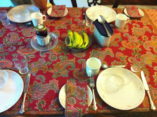 Saubhag Bed and Breakfast: Waiting for a delicious breakfast