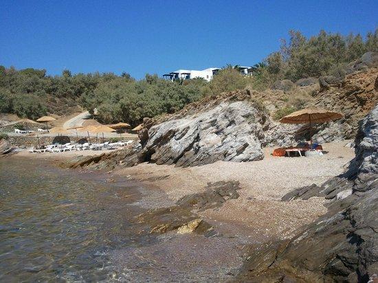 Andros Holiday Hotel: Hotel Andros Strand mit Bucht für zwei