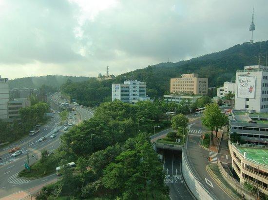 Sejong Hotel : 部屋からの景色2