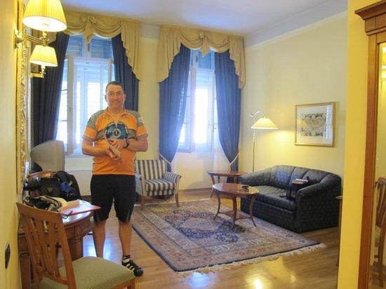 Grand Hotel Entourage - Palazzo Strassoldo: Big suite