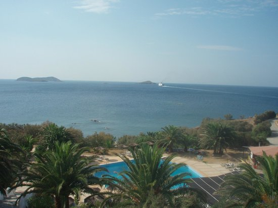 Andros Holiday Hotel: Aussicht vom Balkon