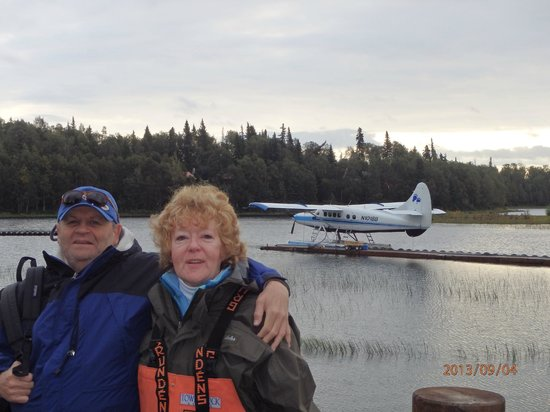 Tower Rock Lodge : Seaplane ride with new fishing buddy