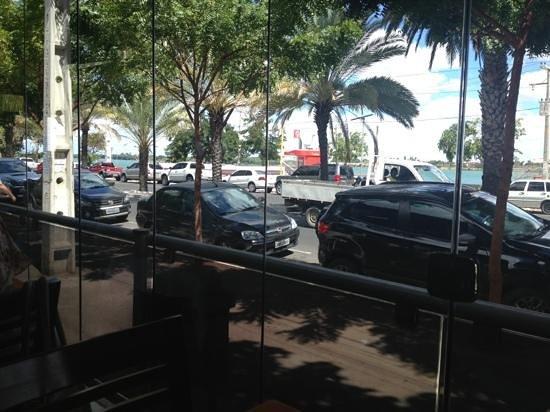 vista do restaurante Capivara