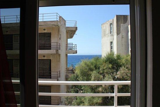 Seva's Studios: Vista dal balcone