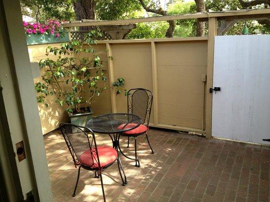carmel garden inn. carmel garden inn: patio inn