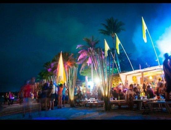 Cha Cha Moon Beach Club: Postcard from Cha Cha Moon on Chaweng Beach