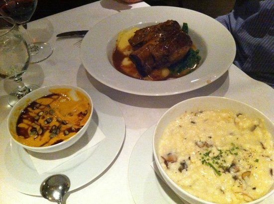 Bistro Michel: Heavenly Risotto, Muscles and Pork