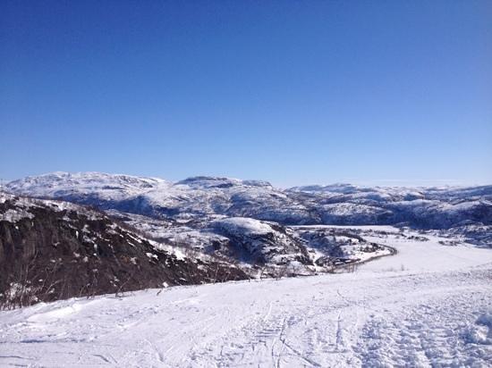 Sirdal Municipality, Norway: fra toppen av Ålsheia