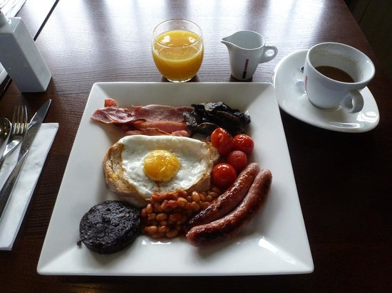 Roebuck Inn: Full English breakfast