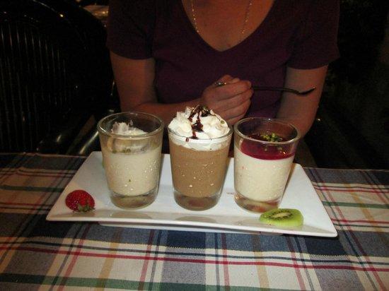 Hotel Neuer am See: Dessert