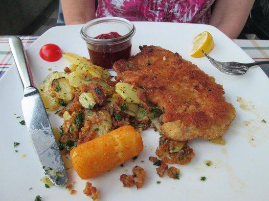 Hotel Neuer am See: Chicken Kiev