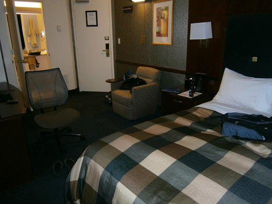 Club Quarters Hotel in Washington, D.C.: My usual room