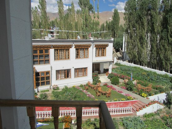 Hotel Kidar : Wonderful View of Gardden