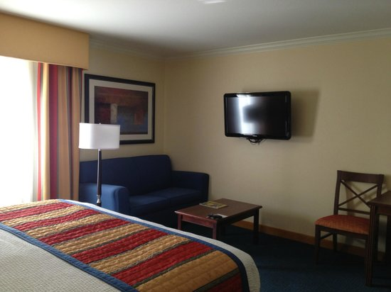 TownePlace Suites by Marriott Fort Worth Downtown: TV area in room