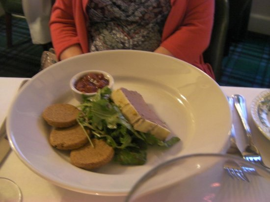 Glenmoriston Arms Hotel: Dinner