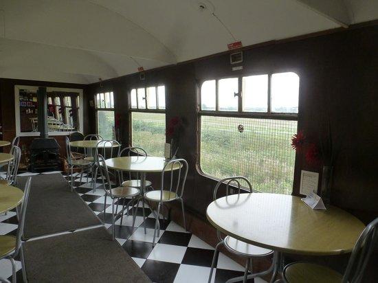 The River Avon Trail: The tea-room interior