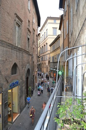 B&B Il Corso : Balcon
