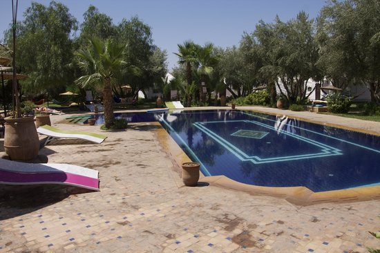Domaine Le Relais de Marrakech : Pool area