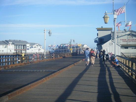 Harbor View Inn: santa barbara pier