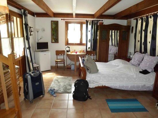 Les Camelias : Chambre spacieuse avec mezzanine