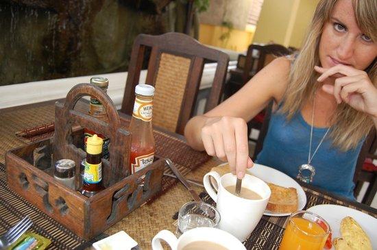Chang Thai House: desayuno