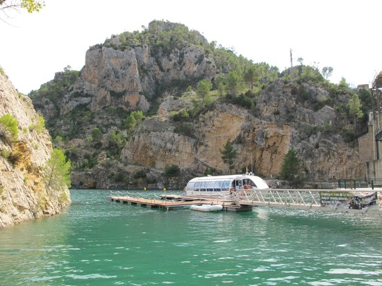 Cofrentes, Spain: Embarcadero rio júcar