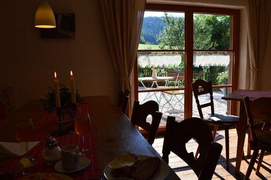 Fehrenbacherhof: the breakfast area
