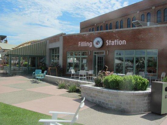 larkin filling station in larkin square  buffalo  ny