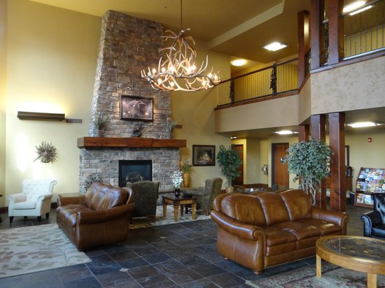StoneCreek Lodge Missoula: Attractive lobby