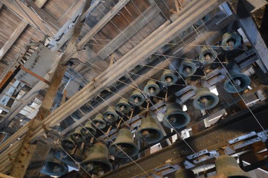 Douai, France : Le carillon