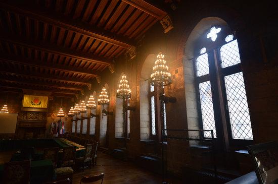 Douai, France : La salle gothique