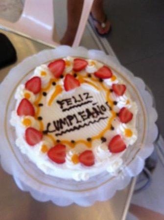 Heladeria Beni: heerlijke taart