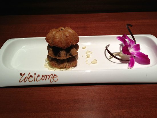 The Ritz-Carlton, Los Angeles: Welcome Amenity