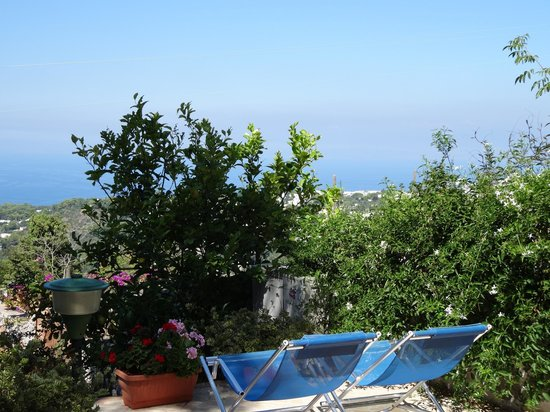 Alle Ginestre Capri Bed & Breakfast: View from our patio
