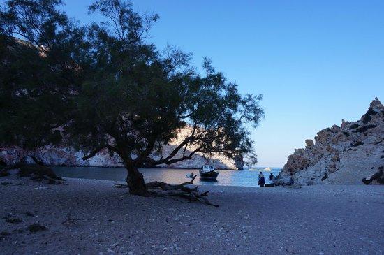 Perseas Boat: soleil bleu