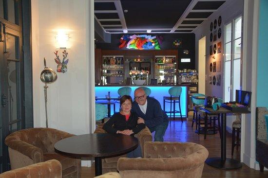 Hotel Castel Victoria : La salle du Petit-déjeuner très originale