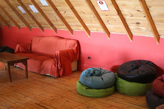 Rancho Grande Hostel: Lounge
