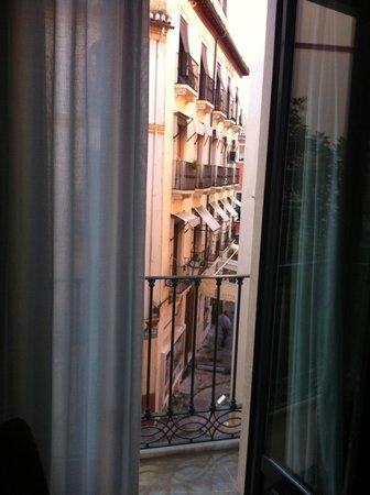 Hotel Monjas del Carmen: view
